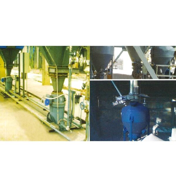 钢厂烧秸除尘灰气力输送